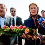 خانم رویال وزیر محیط زیست فرانسه در ارومیه (عکس)