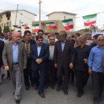 بازدید رئیس بنیاد مسکن از طرحهای هادی روستاهای بهشهر