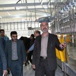 بازدید مشترک فرماندار نکا و مدیرکل دامپزشکی استان مازندران از کشتارگاه تیرنگ