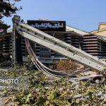 ۲۸ مصدوم و یک کشته بر اثر طوفان در مازندران بر جای ماند