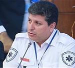 حضور رئیس اورژانس کشور در محل سقوط بالگرد اورژانس در محور هراز