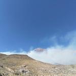 16 هکتار از مراتع  البرز مرکزی دامنه کوه دماوند در آتش سوخت