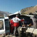 سقوط هلیکوپتر اورژانس مازندران / یک کشته (+عکس)