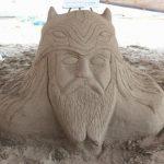 سومین جشنواره استانی مجسمه های شنی درساری پایان یافت