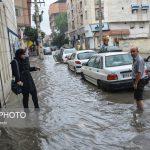 بارندگی و آبگرفتگی شهرهای مازندران