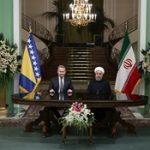 امضای یادداشت تفاهم همکاری بین ایران و بوسنی