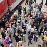 قطار گردشگران خارجی به مازندران هم رسید