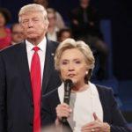 دومین مناظره ترامپ و کلینتون/تهدید ترامپ به زندانیکردن کلینتون و حمله به برجام+تصاویر