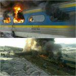 آخرین اخبار از برخورد ۲ قطار در سمنان/جزئیات بیشتر