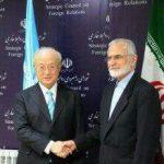 خرازی در دیدار آمانو: آژانس از طرح پیشرانهای هسته ای دریایی ایران حمایت کند