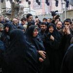 مراسم وداع با پیکر آیت الله هاشمی رفسنجانی در حسینیه جماران/ گزارش تصویری