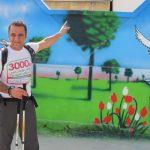 پیادهروی مرد ۵۵ ساله از خلیج فارس تا دریای خزر