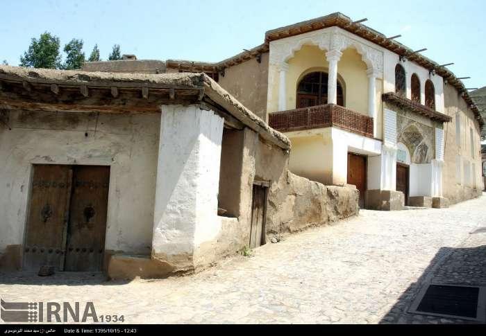 خانه و موزه «نیما»در روستای یوش شهرستان نور