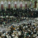 مراسم اربعین آیت الله هاشمی رفسنجانی  در حرم  امام (ره)برگزار شد