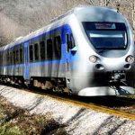 بهرهبرداری از خط آهن آستارا – آستارا با ورود قطارجمهوری آذربایجان به ایستگاه آستارا در ایران آغاز شد
