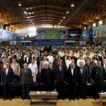 بهره برداری رسمی از پنج فاز پارس جنوبی با حضور رئیس جمهور
