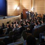 اولین نشست خبری روحانی پس از انتخابات ۹۶ : همیشه با مردم مانند ایام انتخابات برخورد کنید/ از دروغ گویان در مورد سند ۲۰۳۰ نمي گذرم/ همه در انتخابات با موسیقی صلح کردند