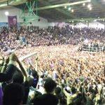 خیز عظیم مردم مازندران در مراسم استقبال از دکتر روحانی + عکس