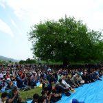سومین جشن نشا در روستای سقندیکلا برگزار شد