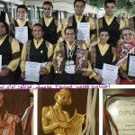 مجسمه طلایی بلغارها به نوازندگان موسیقی مازندران رسید