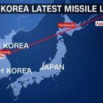 کرهشمالی به سوی ژاپن موشک شلیک کرد/واکنش آمریکا و کرهجنوبی