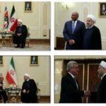 روحانی در دیدار با مهمانان خارجی: برجام را توافق برد – برد و به نفع همه میدانیم