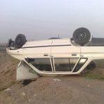 واژگونی خودرو پراید در جاده بهشهر ۵ مصدوم برجای گذاشت