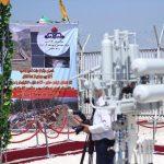 افتتاح خط لوله انتقال گاز سمنان به مازندران توسط وزیر نفت
