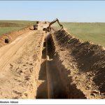 تسطیح و آزادسازی ۲۸۰ کیلومتر از حریم خطوط لوله نفت در منطقه شمال