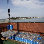 ارسال بزرگترین محموله صادرات غیرنفتی مازندران از بندرنوشهربه مقصد روسیه