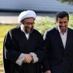 انتقاد شدید رئیسقوهقضائیه از احمدینژاد: در چند دقیقه،۵۰ دروغ گفت/این خیانت نیست؟