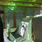 رهبر انقلاب در مرقد بنیانگذار انقلاب اسلامی و گلزار شهدا حضور یافتند