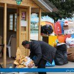 افزايش میزان جمع آوري زباله خشك در كلبه هاي تپش