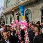 مشعل گاز ۱۱ روستای منطقه پی رجه شهرستان نکا با حضور مهمانان استانی و کشوری روشن شد