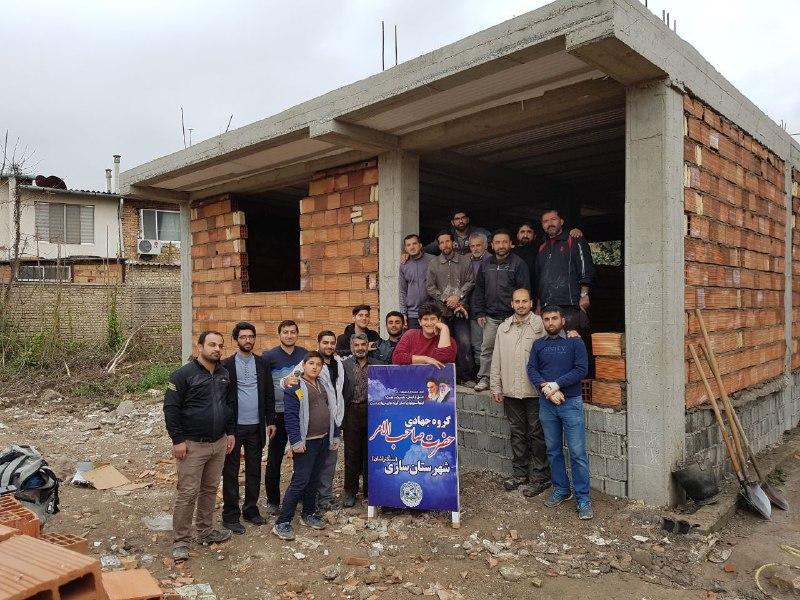 فعالیت گروه جهادی حضرت صاحب الامر عج روستای سنگتراشان