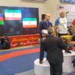 جام پانزدهم مسابقات کشتی آزاد جام شهید هاشمی نژاد در بهشهر ماند