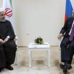 در دیدار رییس جمهوری روسیه؛ روحانی: تلاش کنیم خزر به عنوان دریای صلح و دوستی تبدیل شود