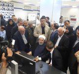 رئیس جمهوری سه طرح پتروشیمی را در عسلویه افتتاح کرد