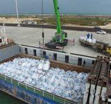 ترانزیت کود شیمیایی ترکمنستان به هند از بندر امیرآباد