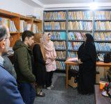 دیدار ولیپور با کتابداران و اعضای فعال کتابخانه نبابینایان ساری