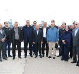 بازدید اعضای شورای نمایندگان دائم سازمان اکو از بندرامیرآباد
