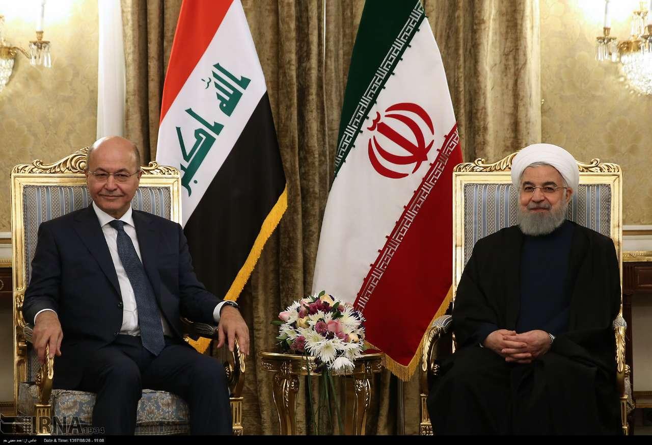 روحانی در نشست خبری مشترک با رییس جمهور عراق: امکان ارتقا روابط اقتصادی ایران و عراق تا ۲۰ میلیارد دلار وجود دارد