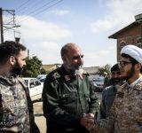 سپاه تا عادی شدن شرایط زندگی سیلزدگان در منطقه حضور دارد