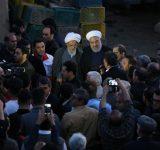 رئیس جمهوری از مناطق سیلزده مازندران بازدید کرد