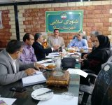 جلسه مشترک شورای شهرستان نکا با نماینده مردم شرق مازندران برگزارشد