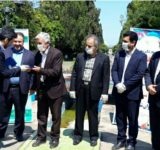 برگزاری تودیع و معارفه شهردار جدید بهشهر در بارگاه شهدای غواص شهرداری